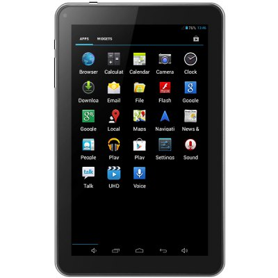 T95 Android 4.2 9.0 inch Tablet PC with All Winner A23 Dual Core 1.5GHz WVGA Screen 8GB ROM WiFi Cameras