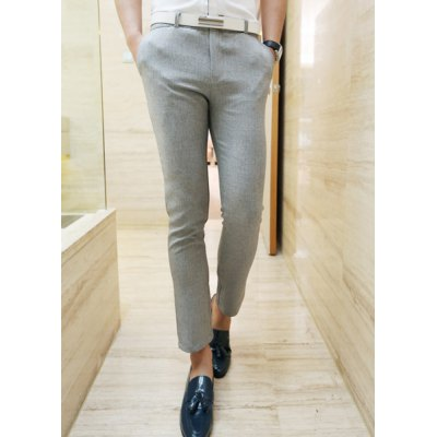 Гаджет   Casual Style Solid Color Men