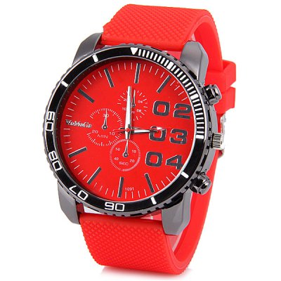 Womage 1091 Men Quartz Wrist Watch