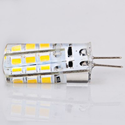 5PCS G4 Car Light Turn Signal Light 3W DC12V 24 - SMD 2835 LED 3000 - 3200K Warm White LED Corn LightLED Light Bulbs<br>5PCS G4 Car Light Turn Signal Light 3W DC12V 24 - SMD 2835 LED 3000 - 3200K Warm White LED Corn Light<br><br>Type: Car Light<br>Car light type: Reading Light, Turn Signal Light, Brake Light<br>Connector: G4<br>LED: 24-SMD 2835 LED<br>Available Light Color: White, Warm White<br>Wattage (W): 3<br>Voltage (V): DC 12<br>Features: Easy to use, Low Power Consumption<br>Package weight: 0.06 kg<br>Package size (L x W x H): 5 x 5 x 5 cm<br>Package Contents: 5 x Corn Car Light