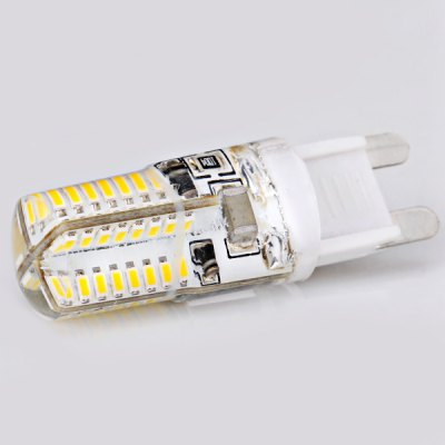 G9 Corn Lamp 3W AC220V 64-SMD 3014 LED Warm White Light