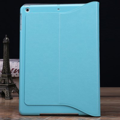 ФОТО DILUO Crazy Horse Series Artificial Leather Material Stand Case with Card Holder for iPad Air
