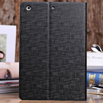 ФОТО DILUO Bicolors Series Artificial Leather Material Stand Case with Dormancy Function for iPad Mini Retina