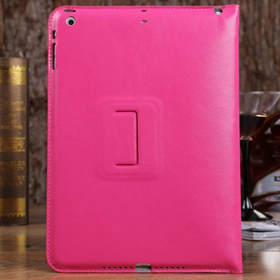 ФОТО DILUO Enland Series Artificial Leather Material Frame Design Stand Case for iPad Air