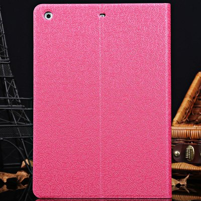 ФОТО DILUO Cloud Series Artificial Leather Material Stand Case for iPad Air