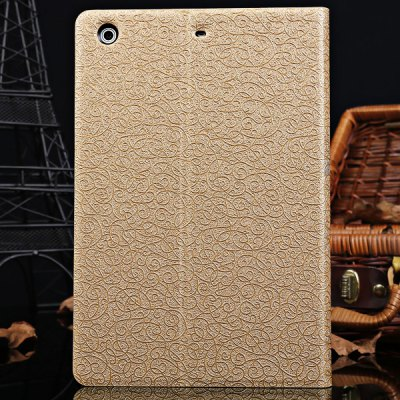 ФОТО DILUO Cloud Series Artificial Leather Material Stand Case with Card Holder for iPad Mini Retina