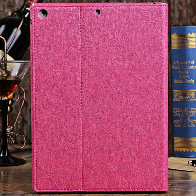 ФОТО DILUO Profit Series High Grade of Artificial Leather Material Stand Case for iPad Air