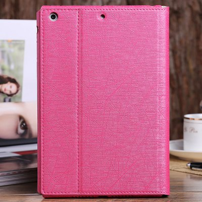 ФОТО DILUO Profit Series Artificial Leather Material Stand Case for iPad Mini Retina