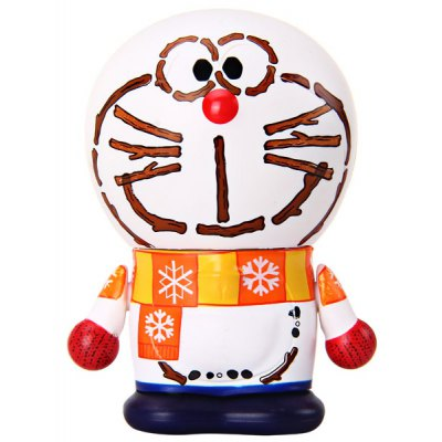 Super Lovely Japan Cartoon Character Doraemon Collection Toy for Fans  -  White