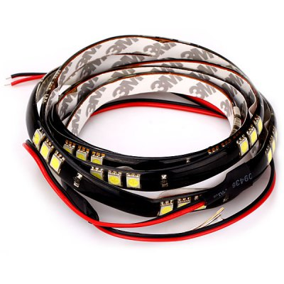 Гаджет   60 LEDs White Light Flexible Strip Light 120CM Highlight LED String Decorative Lamp for Car Body Car Lights