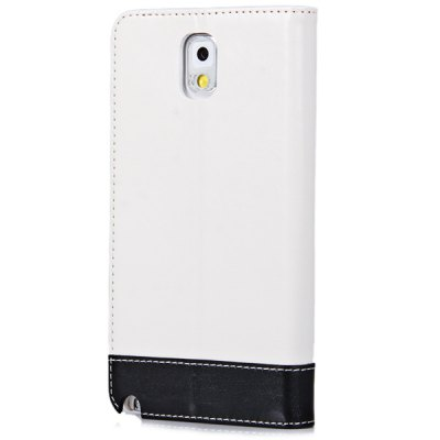 ФОТО HOLILA Leather Pattern PU and PC Material Stand Case with Card Holder for Samsung Galaxy Note 3 N9000 N9002 N9008