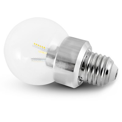 E27 260lm 3.5W 36 - SMD 3014 LED AC220V 6000K White LED Ball Bulb