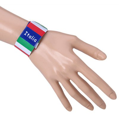 Italy Flag Wristband   Bracelet for 2014 Brazil World Cup