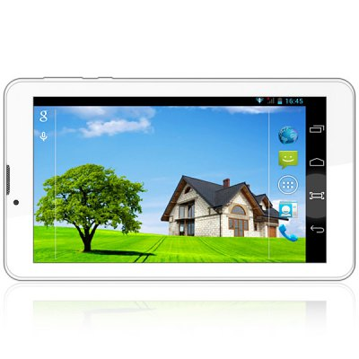 Гаджет   JXD P3000F Android 4.2 3G Phablet MTK8312 Dual Core 1.3GHz with 7 inch WVGA Screen GPS WiFi Dual Cameras Tablet PCs