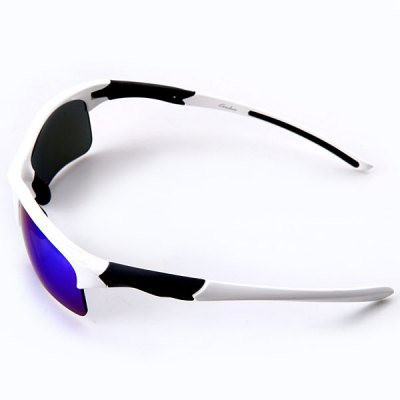UVA / UVB Protection Goggle Motorcross Goggle Sunglasses White Frame Square Blue Reflex Lens StyleSunglasses &amp; Sports Glasses<br>UVA / UVB Protection Goggle Motorcross Goggle Sunglasses White Frame Square Blue Reflex Lens Style<br><br>Type: Sports goggles<br>For: Climbing, Cross-country, Motorcycle<br>Lens material: Polycarbonate<br>Frame material: High quality PC<br>Functions: Dustproof, Fashion, UV Protection, Windproof, Anti-fog<br>Product weight   : 0.031 kg<br>Product size (L x W x H)   : 14.0 x 5.0 x 4.0 cm / 5.5 x 2.0 x 1.6 inches<br>Package weight   : 0.150 kg<br>Package size (L x W x H)  : 16.0 x 8.0 x 6.0 cm<br>Package Contents: 1 x Goggle, 1 x Goggle Box, 1 x Cleaning Cloth