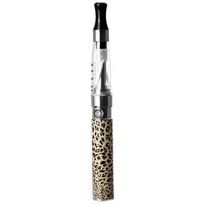 Гаджет   CE4 1.6ml Graduated Tank E - Cigarette Starter Kit Leopard Print 650mAh Rechargeable Battery with USB Charger Starter Kits