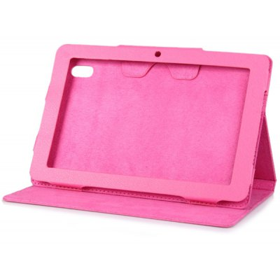 Lichee Pattern Leather Stand Case for 10.1 inch Cube U30GT Tablet PC