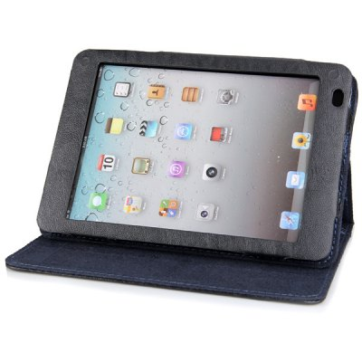 Sheepskin Texture Stand Case for 7.85 inch Ramos X10 Tablet PC