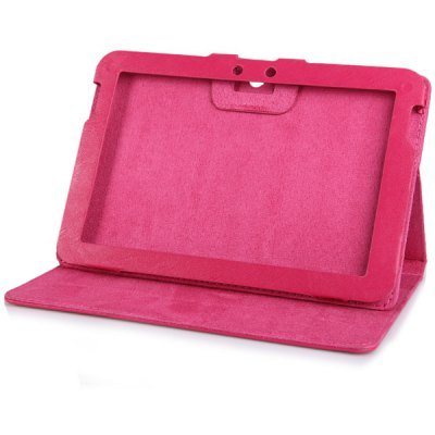Sheepskin Texture Leather Stand Case for 8.9 inch Ifive X2 Tablet PC