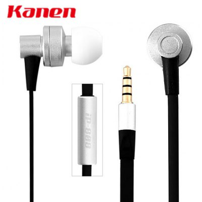 Kanen iP - 808 Detailed Immersive Sound Stage Lebensechten Klang In - ear Headphones with MIC for Mobile Phones Media Players