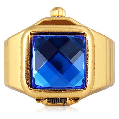 Unique Finger Ring Watch Analog Display with Flip Gem Square Dial Steel Watch BandWomens Watches<br>Unique Finger Ring Watch Analog Display with Flip Gem Square Dial Steel Watch Band<br><br>Watches categories: Unisex table<br>Watch style: Fashion<br>Shape of the dial: Square<br>Movement type: Quartz watch<br>Display type: Pointer<br>Case material: Stainless steel<br>Band material: Steel<br>The dial thickness: 1.1 cm / 0.4 inch<br>The dial diameter: 1.7 cm / 0.7 inch<br>Product weight: 16 g<br>Product size (L x W x H) : 3.0 x 2.4 x 2.2 cm / 1.2 x 0.9 x 0.9 inches<br>Package contents: 1 x Watch