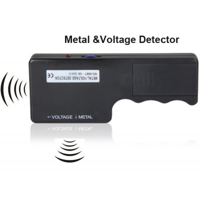 Hand - held LED Indicator Metal/ Voltage Detector for Detecting Bigger Metal and AC Voltage Carry Parts