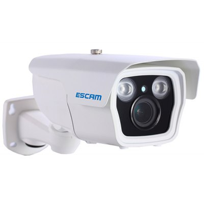 ESCAM Q1039 Full HD 1080P Infrared Bullet Camera IP66 Waterproof 4X Motorized Zoom Support iPhone / iPad / Android Phone Remote Control