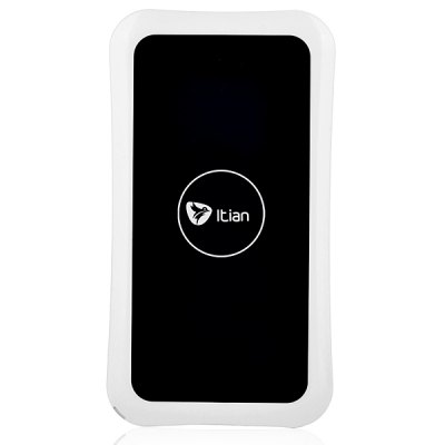 Itian K8 Rectangle Shaped Qi Wireless Charging Mat with Receiver
