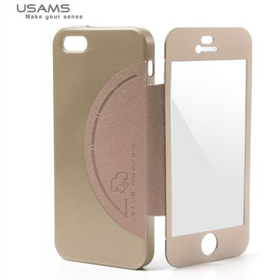 USAMS King Kong Series Frame Style Plastic and Aluminum Material Case for iPhone 5 / 5S