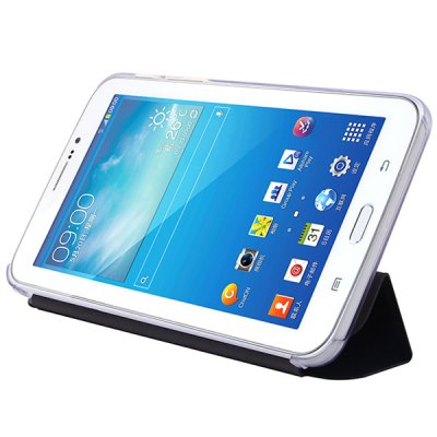 USAMS Starry Sky Series PU + PC Cover Case with Foldable Stand for Samsung Galaxy Tab 3 Lite 7.0 T110
