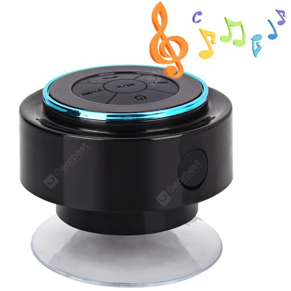 F - 012 IP67 Waterproof Bluetooth Speaker with Suction Cup/Hands - free Call Built - in Microphone NA0082902