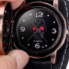 Cool Men Watch Analog Display with Flip Scorpion Round Dial Leather Watch Band deal