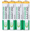 4PCS BTY AAA 1350mAh 1.2V Ni - MH Rechargeable Battery without Protection Board