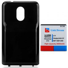 Link Dream High Capacity 3.7V 3500mAh Battery and PC Back Cover for Samsung S2 Epic Touch 4G D710