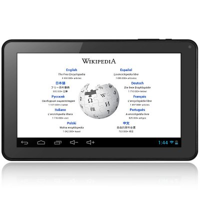 Гаджет   T90 Android 4.2 Tablet PC with 9 inch WVGA Screen Infotmic X15 Dual Core 1.0GHz WiFi Dual Cameras Tablet PCs