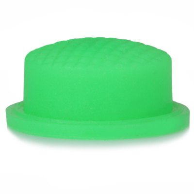 DIY 14MM Silicone Tailcaps for 501B / 502B LED Flashlight  -  Green