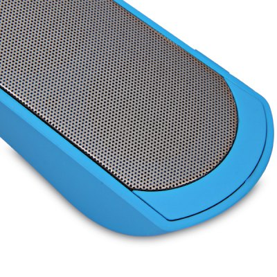 MS - 201 2.0 Sound Channel Slender Bluetooth Speaker With Hands -  Fre