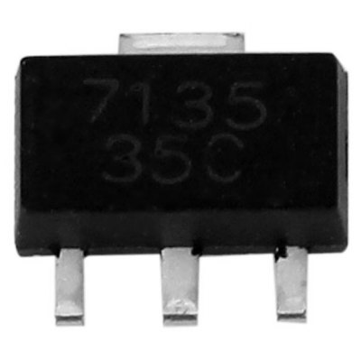 DIY 2.7-6V 7135 IC Small Constant Current Source Driver 350mA Output