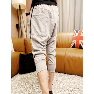 Гаджет   Casual Style Lace-Up Slimming Solid Color Zipper Embellished Design Narrow Feet Men