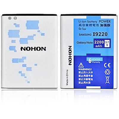 NOHON EB615268VU High Capacity 3.7V 2200mAh Replacement Battery for Samsung Galaxy Note i9220 i9228 i889