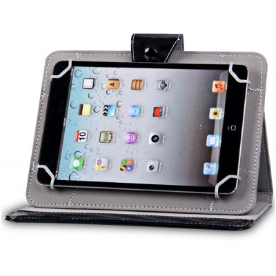 Four Buckles Design PU Stand Case for 8 inch Tablet PC