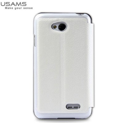 Гаджет   USAMS Starry Sky Series PU + PC Case with View Window and Stand Function for LG L70 Other Cases/Covers