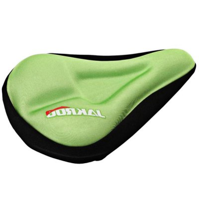 JAKROO Comfortable Cycling Bike Silicone Saddle Seat Cushion Cover for MTB Road Bike Folding Bike Fixed Gear etc.