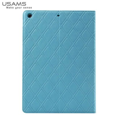 Гаджет   USAMS Forest Series Artificial Leather and Plastic Material Case with Stand Function for iPad Mini 2 Retina iPad Cases/Covers