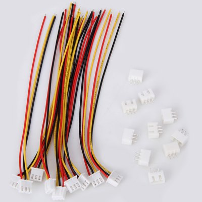 10PCS JST - XH 2S Balance Wire Extension Adapter Lead 15cm for RC Lipo