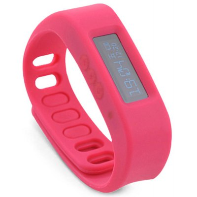 Bluetooth 4.0 OLED Screen Design Sleep Monitoring Step Counting Synchronizing Data Smart Wristband for iOS 7.0 Above or Android 4.3 Above