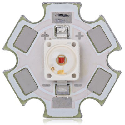 3W 100lm Warm White Light W5AM LED with 20MM Aluminum Plate Substrate