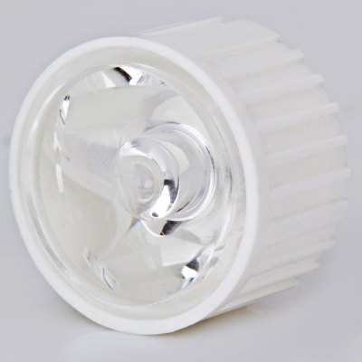 DIY 30 Degree Irritation Angle Spot Light LED Optical 23MM Lens with Support