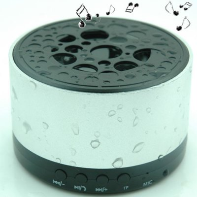 F007 IPX4 Waterproof Bluetooth Speaker with Handsfree Call / TF CardFunction Built - in Microphone