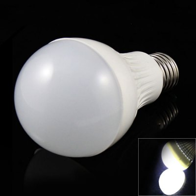 E27 7W 14 x 5730 SMD LED AC85-265V 500lm White 6500K Ceramic + Nano Ball Bulb